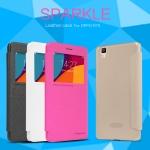 เคส OPPO R7s Sparkle Leather Case NILLKIN แท้ !!