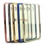 """เคส TPU ครอบหลัง ขอบสีไฮโซ Samsung Galaxy Tab A 7 """"(A6) T285"""