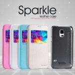เคส Samsung Galaxy S5 รุ่น Sparkle Leather Case NILLKIN แท้ !!