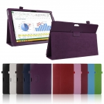 """Leather Cover Case For Microsoft Surface PRO 3 12 """" (รุ่นไม่มีสายยางรัด)"""
