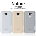 "Nillkin Nature Slim Clear TPU Case Cover for Asus Zenfone 3 Max 5.5"" ZC553KL"
