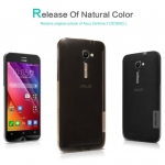 Nillkin Nature Slim Clear TPU Case Cover for Zenfone 2 (ZE500CL)