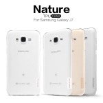 Nillkin Nature Slim Clear TPU Case Cover for Samsung Galaxy J7
