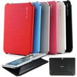 SAMSUNG GALAXY NOTE 10.1 N8000 PREMIUM BOOK COVER CASE HARD SHELL SLIM STAND