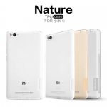 Nillkin Nature Slim Clear TPU Case Cover for Xiaomi mi4