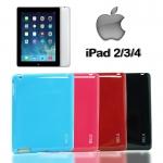 TPU ครอบหลัง iPad 2 3 4 มี 4 สี