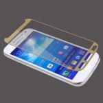 - ฟิล์มกระจกนิรภัย ขอบสีทอง For Samsung Galaxy A8