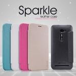 เคส Asus Zenfone 2 (ZE500CL) รุ่น Sparkle Leather Case NILLKIN แท้ !!