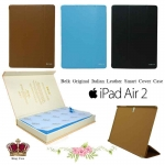Belk Original Italian Leather Smart Cover Case For Apple iPad Air 2