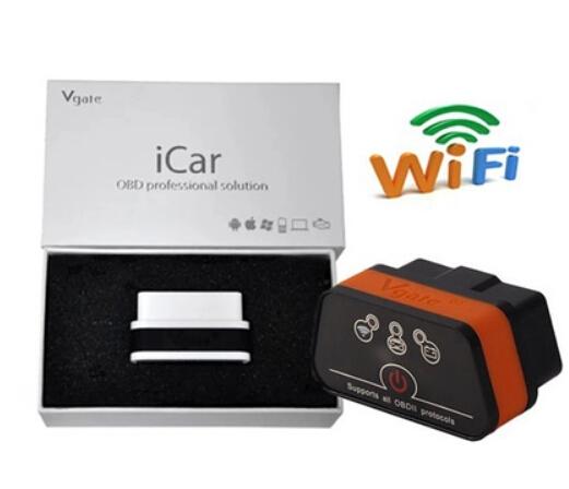 Vgate iCAR2 ELM327 OBD2 WiFi (คละสี)