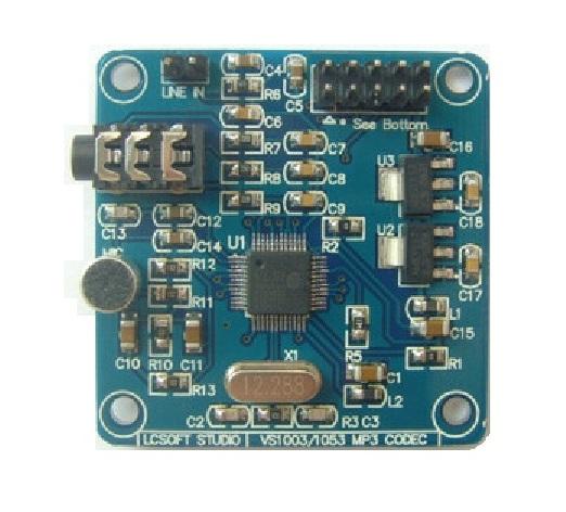 MP3/WMA/WAV/MIDI Player Module (VS1003)