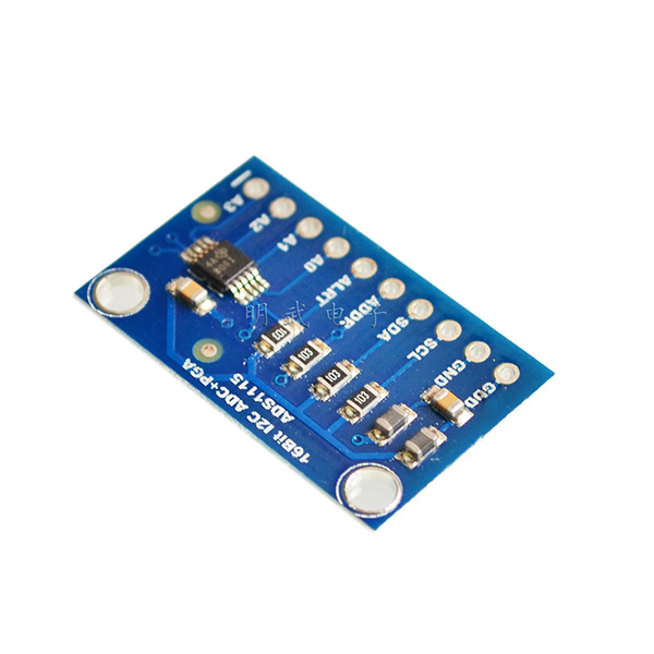 ADS1115 16-Bit ADC - 4 Channel with Programmable Gain Amplifier