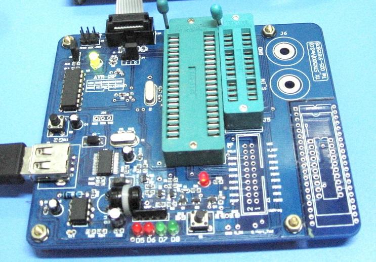 AVR Programmer STK500 V2 support High Voltage Parallel Programming