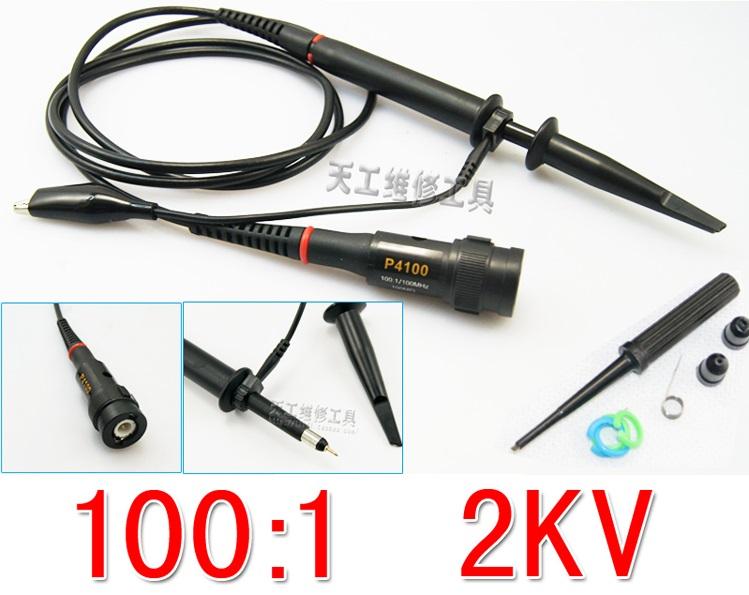 High-Voltage Probe for Oscilloscope