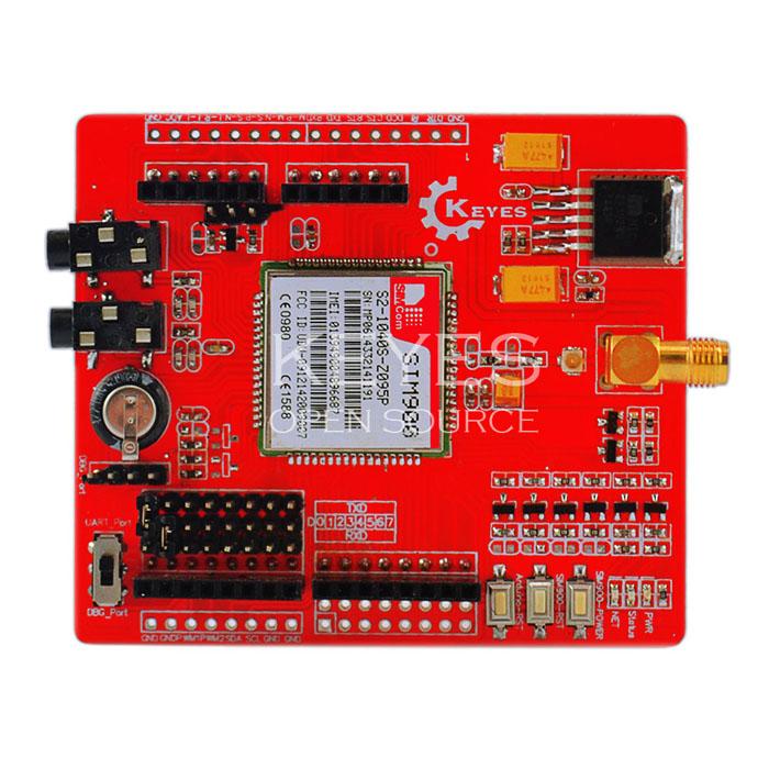 SIM900 GSM/GPRS Shield ยี่ห้อ Keyes (Itead IComSat Compatible)